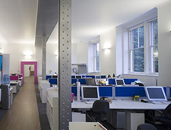 LFH Brand Consultancy open plan office space
